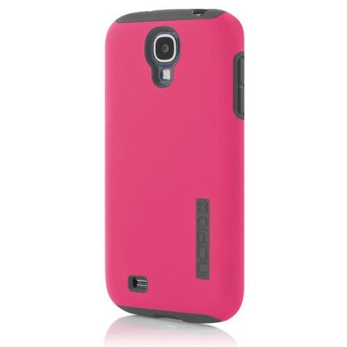 Incipio DualPro - Carcasa para Samsung Galaxy S4, color rosa y gris