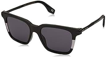 Marc Jacobs Wayfarer Sunglasses for Unisex - Grey Lens
