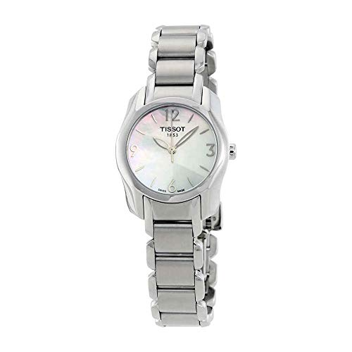 (Tissot T-Wave Mother of Pearl Dial Ladies Watch T0232101111700 )