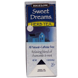 Bigelow Single Flavor Tea, Sweet Dreams, 28/Box