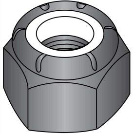 1/4-20 NE Nylon Insert Hex Lock Nut 18 8 Stainless Steel Black Oxide and Oil, Pkg of 1500