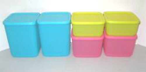 Tupperware Modular Storage Containers Square Round (Tupperware Square Round Lids)