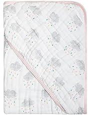 Toalha De Banho Papi Soft Com Capuz Estampada 80Cm X 80Cm Contem 01 Un, Papi Textil, Rosa, 80x80
