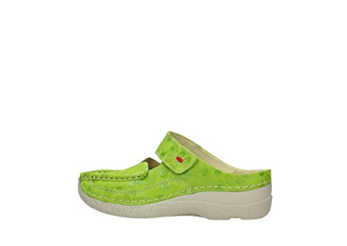 12750 Sneaker Nubuckleather Wolky Donna Lime xpfaqwnnF