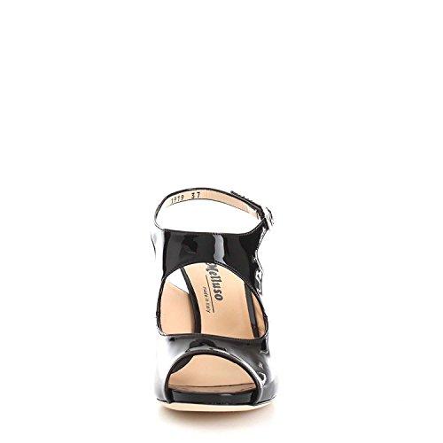 Charol Mujer Melluso Vestir Negro Zapatos Para De RxqTgt