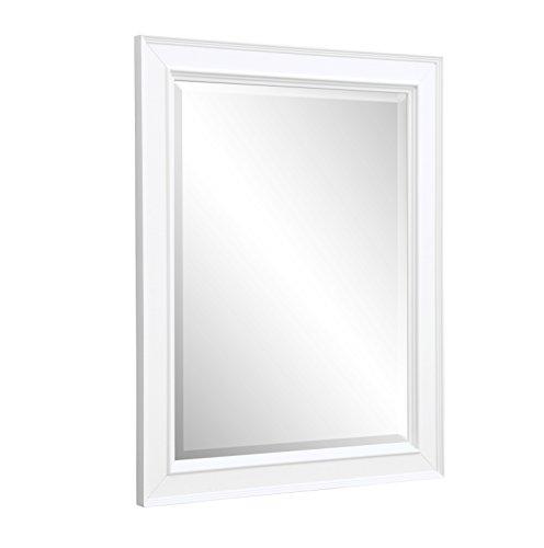 (Kitchen Bath Collection MR01WT Napa Bathroom Wall Mirror, 28