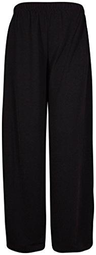 Purple Hanger - mujer elástica elástico diseño de pantalones de pierna de Alessandro inconmovible desempleados de ajuste negro