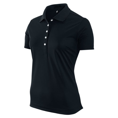 Nike Victory Polo pour femmes Noir Taille XS