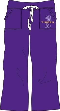 (Louisiana State LSU Tigers NCAA Ladies Lounge Pant Large)