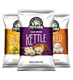 Gourmet Rocky Mountain Popcorn 8 packs Gluten Free & Nut Free Review