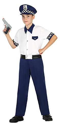 Atosa- Disfraz Policía, 10 a 12 años (22167): Amazon.es: Juguetes ...