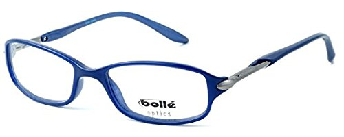 Boll/é Elysee Lightweight /& Comfortable Designer Reading Glasses 50mm in Opaque Blue 1.25