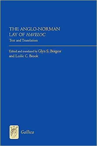 Télécharger des ebooks au format txtThe Anglo-Norman Lay of Haveloc (Gallica) en français PDF RTF DJVU