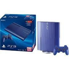 Sony PlayStation 3 250GB Console - Blue ()