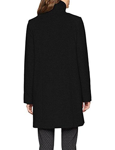 990 Wool Black Hechter Daniel jet Negro Para Coat Mujer Abrigo zg5q1