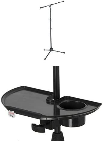 Blast King IMS305 Folding Base Microphone Stand with Boom Chrome