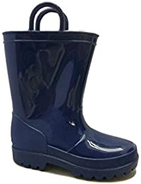 Amazon.com: Blue - Rain Boots / Outdoor: Clothing, Shoes & Jewelry