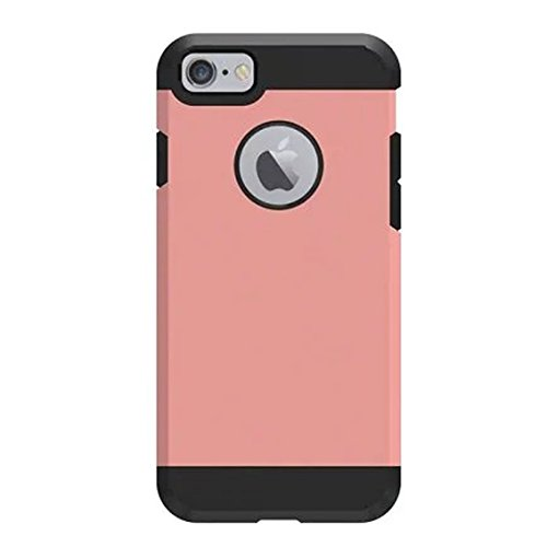 iBarbe Slim Shockproof Soft Rugged Anti-slip Cover for Apple iPhone 7 - White/Black