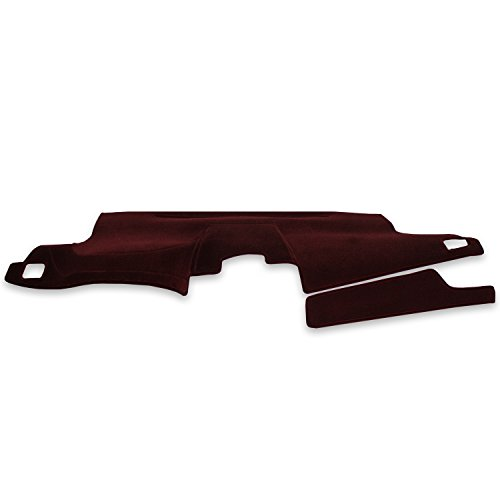 Coverking Custom Fit Dashcovers for Select Isuzu Impulse Models - Velour (Wine)