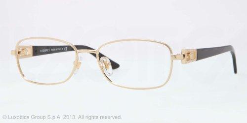8fe897296a9 VERSACE Eyeglasses VE 1216B 1002 Gold 54MM  Amazon.co.uk  Clothing