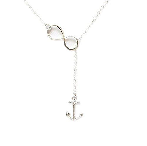 Infinity Necklace Sterling Weddings Nautical product image