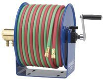 Coxreels 170-112W-1-50 1-4 Inchx50 Low Pressure Twin Line Reel W- Hose by Coxreels by Coxreels