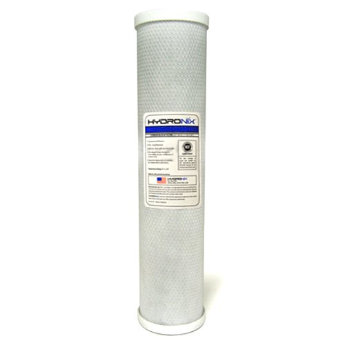 Hydronix CB-45-2005 NSF Carbon Block Filter 4.5'' OD X 20'' Length, 5 Micron by Hydronix