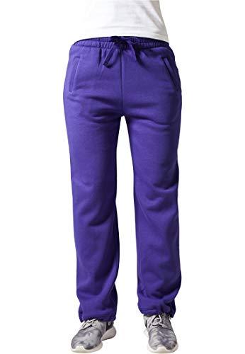 Urban Classics Umstand Pantalon de sport large pour femme Pourpre