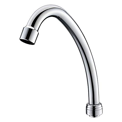 MSTJRY Swivel Gooseneck Spout for MSTJRY Commerical Faucet Only, with Chrome Finish 5