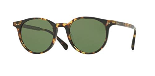 Oliver Peoples - Delray Sun - 5314 48 - Sunglasses (VINTAGE DTB, Green C) (Oliver Peoples Vintage Sunglasses)