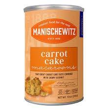 Manischewitz Carrot Cake Macaroons 10 oz Pack of 2 by Manischewitz
