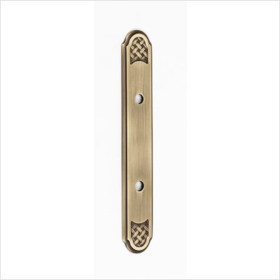 Alno A1487-3-AEM Classic Weave Suite Pull Cabinet Backplate