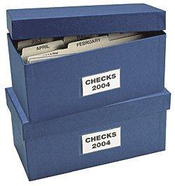 - ABC Check Storage Box w/ 12 Dividers, 5