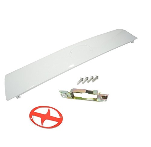 Sentinel Parts Liftgate Tailgate Hatch Garnish Door Handle Kit 040 White for 2005-2010 Scion Tc