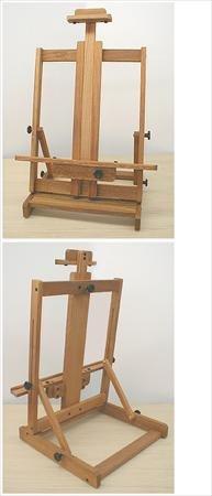 - Jack Richeson Lyptus Wood Table Top Easel