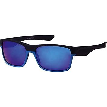 Chic-Net coloré miroir lunettes de soleil Wayfarer Cadre 400 UV verte sportive transparente PV0flgxApV
