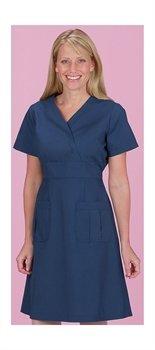 Skirt Scrub (Marvella by White Cross Women's A-Line Scrub Dress Large Navy)