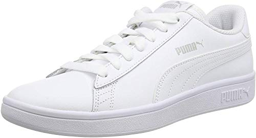 PUMA Smash V2 Leather, Baskets Mixte 1