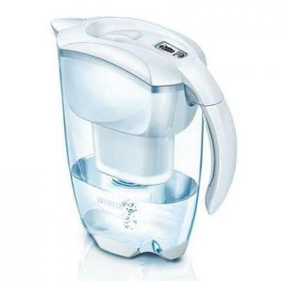 Brita Elemaris Cool Meter weiß Tischwasserfilter