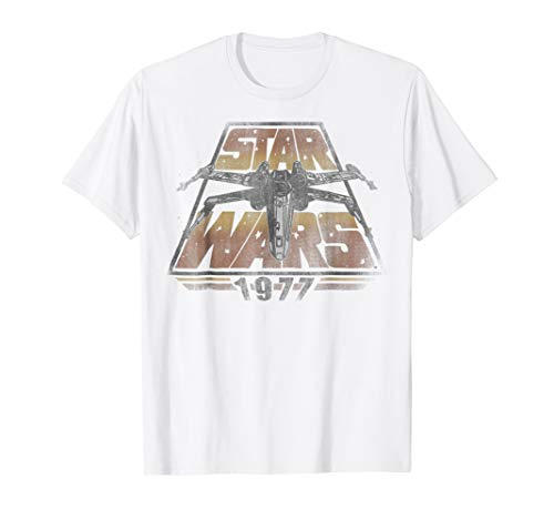 - Star Wars X-Wing 1977 Vintage Retro Graphic T-Shirt