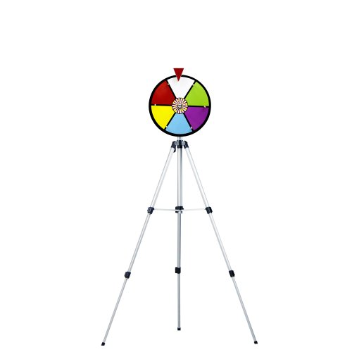 12 Inch Color Dry Erase Prize Wheel with Stand By Midway Monsters by MIDWAY MONSTERS