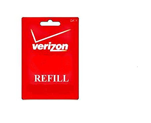 $30 Verizon Wireless Prepaid Refill Top Up Card