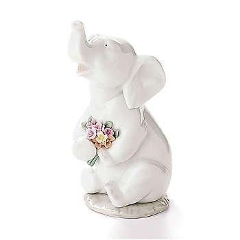Lladro Lucky in Love 06462 Baby - Lladro Elephant
