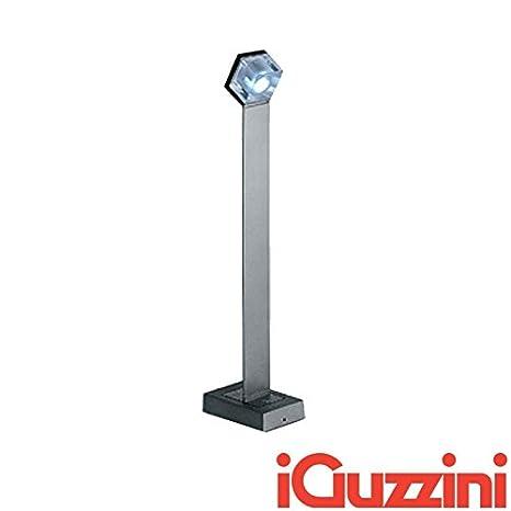 IGuzzini BB17 Glim Cube LED Luz Blanca Cálida, 3200 K Poste Outdoor Bollard de Exterior