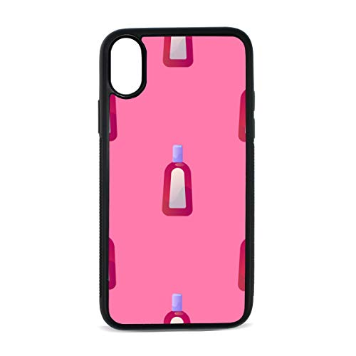Shampoo Daily Necessities Creative Digital Print TPU Pc Pearl Plate Cover Phone Hard Case Cell Phone Accessories Compatible with Protective Apple Iphonex/xs Case 5.8 Inch (Flacon Bottle)