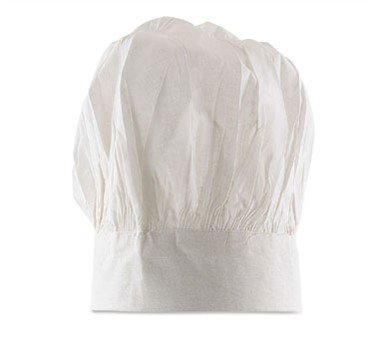 Chef'S Hat, 10'' H, Velcro Closure, 3'' Headband, 100% Cotton (12 Pieces/Unit) by Alegacy Foodservice Products Group