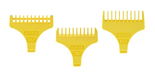 WAHL T-Shaped Trimmer Guide Set, 1/16 Inch and 3/16 Inch