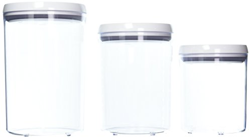 OXO Good Grips POP 3-pc. Round Canister Set