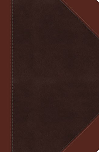 NKJV, Ultraslim Reference Bible, Large Print, Imitation Leather, Brown, Red Letter Edition (Classic)