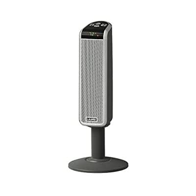 Lasko 5397 Convection Heater - Ceramic - Electric - 1.50 kW - Floor - Silver